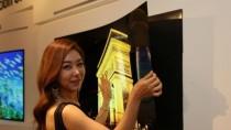 LG Display: 55 Zoll gro�er OLED-Fernseher ist wie ein Poster nutzbar