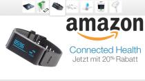 Amazon Gesundheits-Aktion: 20 Prozent auf Fitnesstracker & Co.