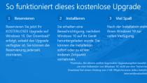 Windows 10: 'Clean Install' kann nach Upgrade durchgef�hrt werden
