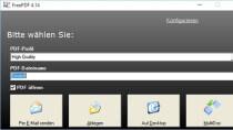 FreePDF 4.14 - PDF-Dateien aus allen Programmen drucken