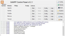XAMPP - Softwarepaket f�r Webserver