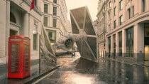 Star Wars: Designer zeigt abgest�rzte Raumschiffe auf der Erde