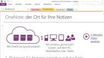 OneNote - Kostenloses Notizprogramm