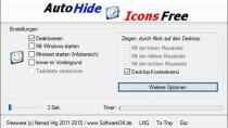 AutoHideDesktopIcons - Desktop-Icons ausblenden