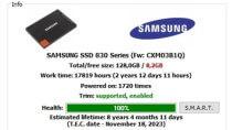 SSDLife Free 2.5.82 - Zustand von SSD-Festplatten ermitteln