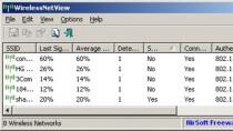 WirelessNetView - WLAN-Netzwerke aufsp�ren