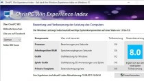 ChrisPC Win Experience Index - Leistungsindex nachr�sten