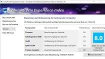 ChrisPC Win Experience Index - Leistungsindex nachrüsten