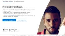 Windows-10-Look & neue Optionen: Groove Music Webplayer gestartet