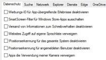 W10Privacy - Mehr Datenschutz für Windows 10