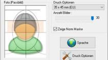 IDPhotoStudio - Passbilder am PC erstellen und ausdrucken
