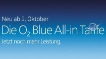 O2 passt Blue-Tarife an: Ab 1. Oktober neue Datenautomatik & mehr