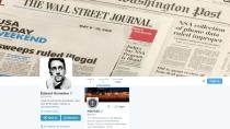 47 GB: Snowdens Twitter-Deb�t l�st Benachrichtigungslawine aus