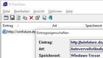 IE PassView - Passwörter aus Internet Explorer auslesen