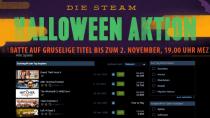 Steam Halloween-Aktion: 1850 Spiele-Deals mit bis zu 80% Rabatt