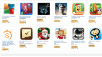 Amazon App Shop Weihnachtsaktion mit 13 gratis Android-Apps