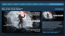 Steam k�ndigt Rise of the Tomb Raider f�r PC schon f�r Januar an