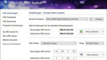 ChrisPC DNS Switch - DNS-Einstellungen anpassen