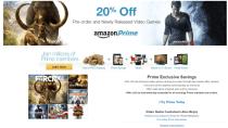 Start in USA: Amazon Prime bietet 20% Ermäßigung auf neue Games