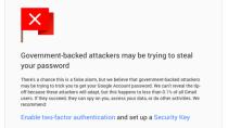 """Google warnt vor """"Staatszugriff"""" auf das eigene Email-Konto"""