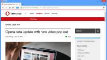 Opera: Browser bekommt kostenlose und unbegrenzte VPN-Funktion