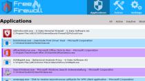 Free Firewall - Komfortable Firewall für Windows