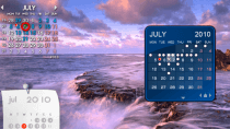 Rainlendar Lite - Desktop-Kalender f�r Windows
