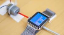 Flei�iger T�ftler bringt Windows 95 auf der Apple Watch zu Laufen