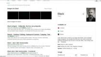 Google testet schwarze Links in Suchergebnissen, Nutzer hassen sie