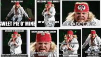 """Viel Gl�ck: Axl Rose will """"Fat Meme""""-Foto aus dem Netz entfernen"""