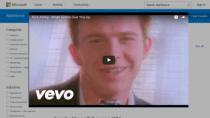 Rick Astley statt App-Vorschlag: Microsoft rickrollt Businesskunden