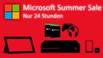 Satte Rabatte: Gro�er 24 Stunden Summer Sale im Microsoft Store