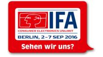 IFA 2016: Alles wichtige gibt es bei uns - auch Gratis-Tickets!
