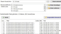 TikiOne Steam Cleaner - �berfl�ssige Dateien von Spielen entfernen