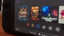Nintendo Switch: Erster Blick auf die Oberfläche der mobilen Einheit
