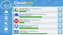 Cloudevo - Verschiedene Cloud-Dienste zu einem Speicher vereinen