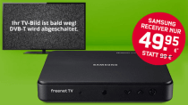 FreenetTV: DVB-T2-Receiver 40€ günstiger + 4 Monate Gratis HD-TV