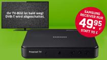 FreenetTV: DVB-T2-Receiver 40€ günstiger + 4 Monate Gratis HD-TV