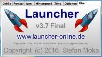 Launcher - Zusätzliche Schnellstartleiste