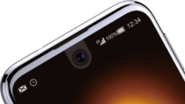 Sharp Aquos R Compact: Randlos-Smartphone mit Kamera 'im' Display