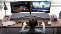 2 Displays in 1: Samsung stellt 49-Zoll-Monitor im 32:9-Format vor