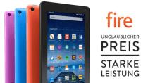 Amazons Fire 7-Tablet heute um fast die Hälfte reduziert