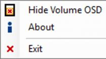 HideVolumeOSD - Lautstärkeregler von Windows verstecken