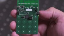 Studenten entwickeln batterieloses Funktelefon für Skype-Anrufe