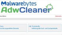 AdwCleaner - Adware, Toolbars und Hijacker enfernen