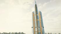 Neuer Turbo-Aufzug von ThyssenKrupp kann um die Ecke fahren