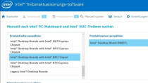 Intel Treiberaktualisierungs-Software - Treiber-Updates finden