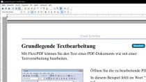 FlexiPDF Basic 2017 - PDFs ansehen, bearbeiten und erstellen