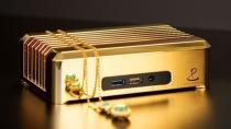 PC-Goldbarren: Schweizer Hersteller bringt Mini-Desktop aus 7 Kilo Gold