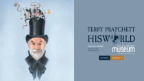 Dampfwalze zerstört Festplatte von Scheibenwelt-Autor Terry Pratchett